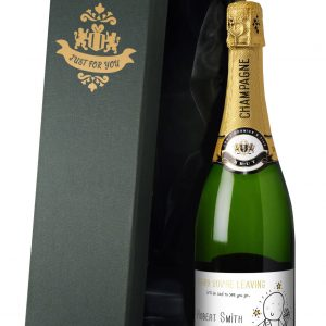 Personalised Chilli & Bubbles Leaving Champagne 2