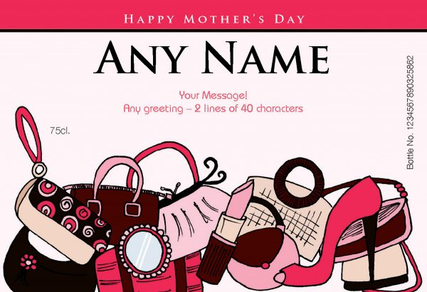 Personalised Mother's Day Accessories Red Wine 3