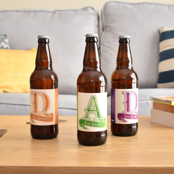 D.A.D. 3 Pack of Personalised Beer 13