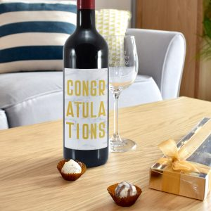 Congratulations Red Wine Gift Set 5