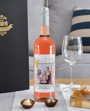 Photo Upload Bottle Of Rosé Wine 5