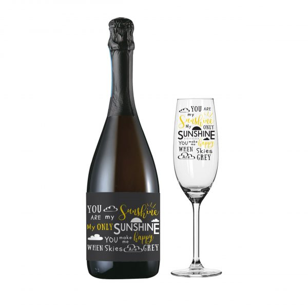 You Are My Sunshine Prosecco Gift Set 3