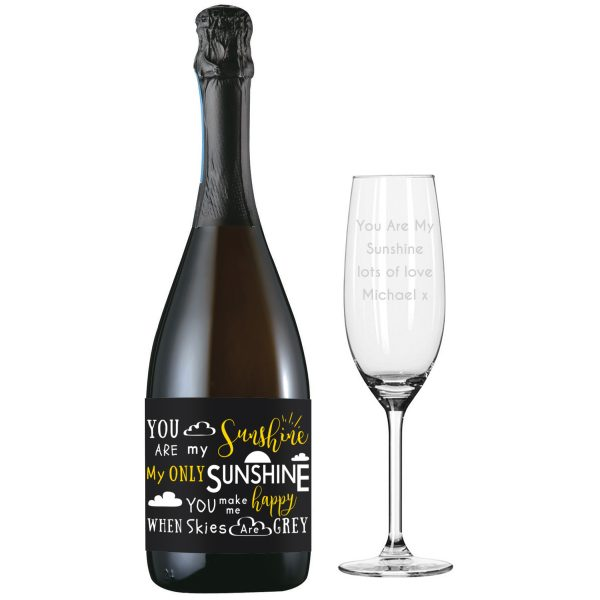 You Are My Sunshine Prosecco Gift Set 2