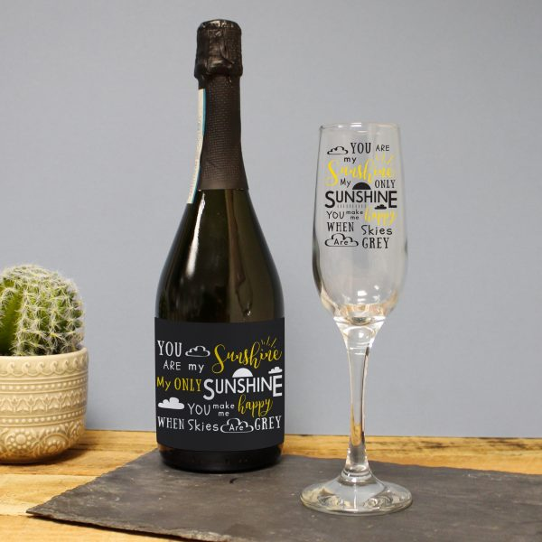 You Are My Sunshine Prosecco Gift Set 4