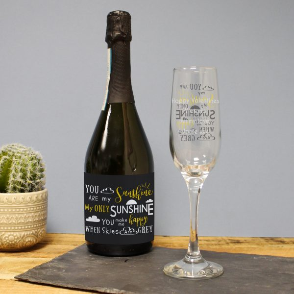 You Are My Sunshine Prosecco Gift Set 5