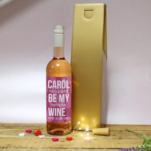 Always Be My Partner In Wine Gift - Rose Wine 2