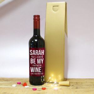 Always Be My Partner In Wine Gift - Red Wine 1