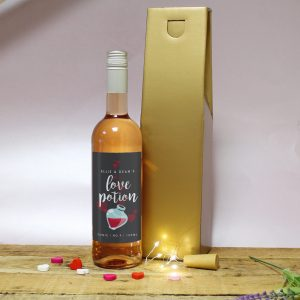 Black Love Potion Rose Wine Gift 1