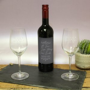 True Love Story Red Wine Gift Set 1