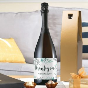 Floral Thank You Prosecco 5