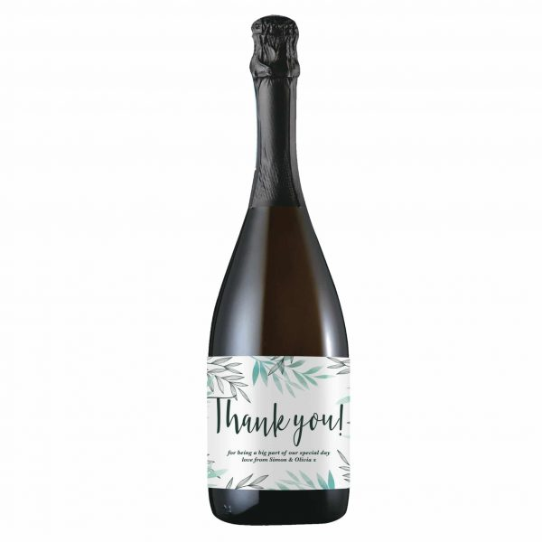 Floral Thank You Prosecco 3