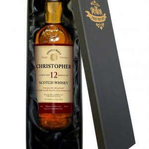 Personalised Valentine's Day 12 Year Old Malt Whisky 3