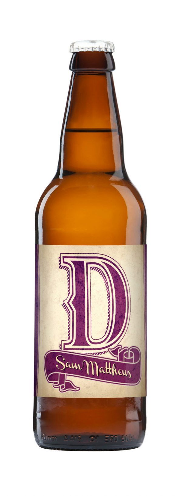 D.A.D. 3 Pack of Personalised Beer 8