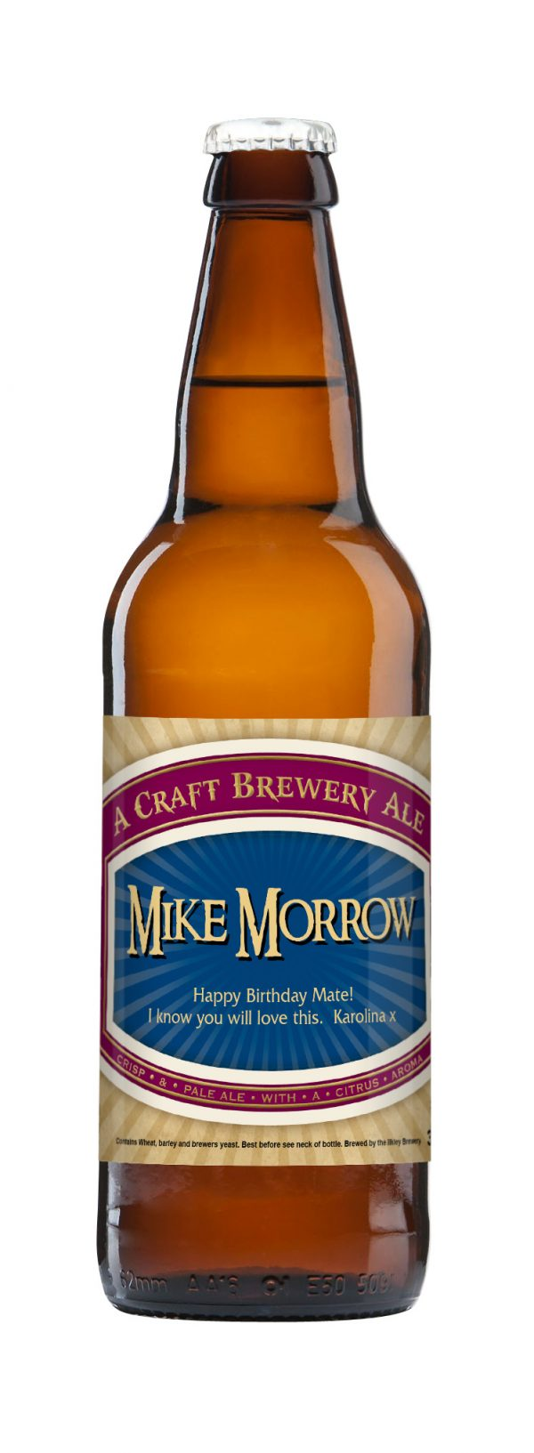 Traditional Label Craft Beer 3