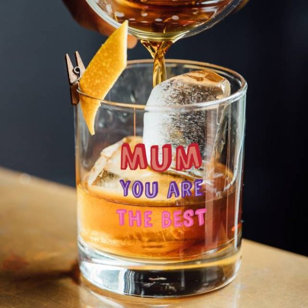 Mum You Are…. Tumbler Glass - Personalised 1