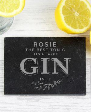 personalised gin coaster 4