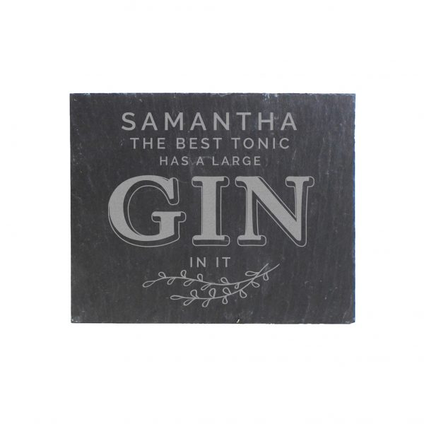 personalised gin coaster 5