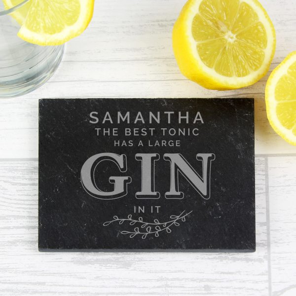 personalised gin coaster 1