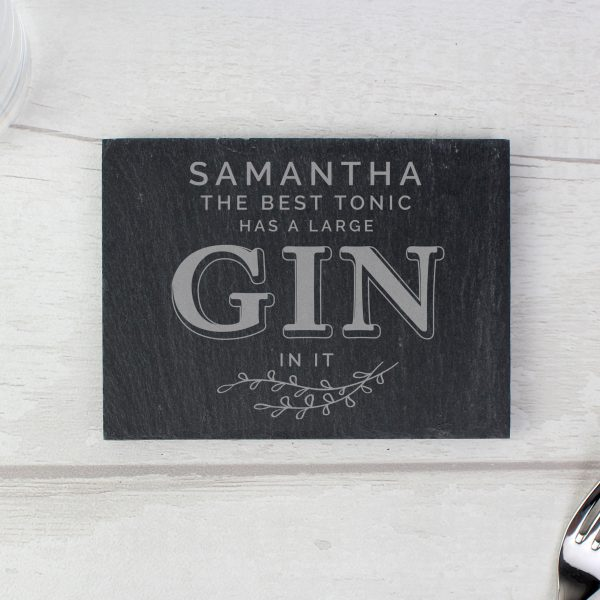 personalised gin coaster 2