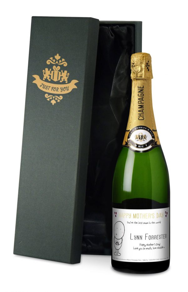 Personalised Chilli & Bubbles Mother's Day Champagne 2