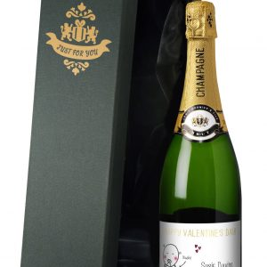 Personalised Chilli & Bubbles Valentine's Day Champagne 2
