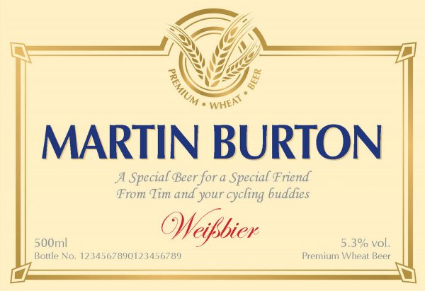 Traditional Label Wheat Beer 1