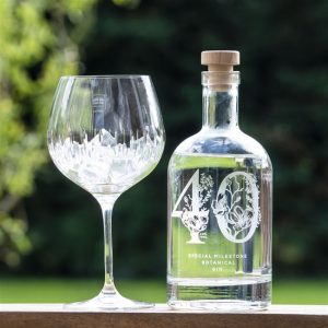personalised engraved gin bottle